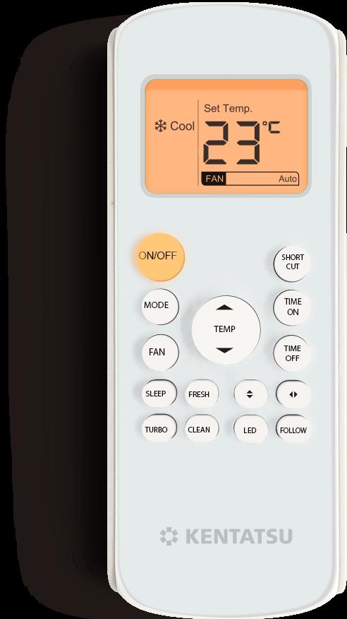 Настенный кондиционер KSGB26HFAN1/KSRB26HFAN1 Kentatsu